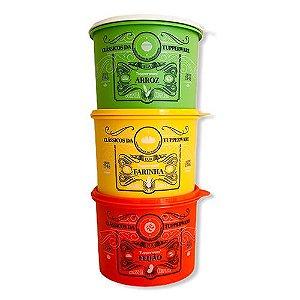 Tupperware Caixas Clássicas 3 Pecas
