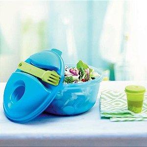 Tupperware Marmitup Salad 1 Litro Azul