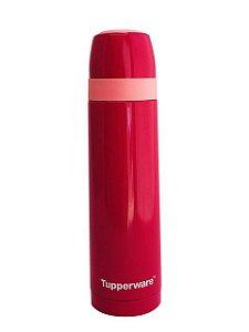 Tupperware Garrafa Térmica Portátil 500ml Rosa