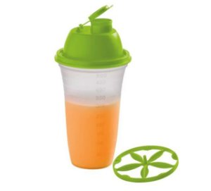 Tupperware Quick Shake 500ml Verde