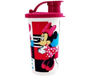 Tupperware Copo Minnie com Bico 310ml Rosa
