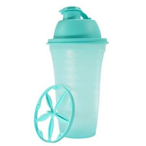 Tupperware Quick Shake 500ml Verde Claro