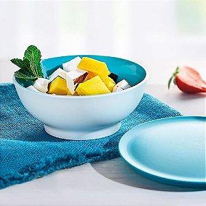 Tupperware Tigela Allegra 275ml Azul 4 Pecas Importada