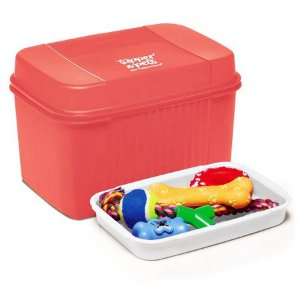 Tupperware Visual Box com Bandeja Pets 4,5 Litros