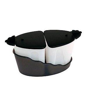 Tupperware Acucareiro e Cremeira Murano 350ml