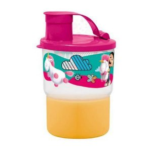 Tupperware Copo Colors Agnes com Bico 225ml Rosa