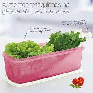 Tupperware Super Caixa Sereia 4,3 Litros Rosa