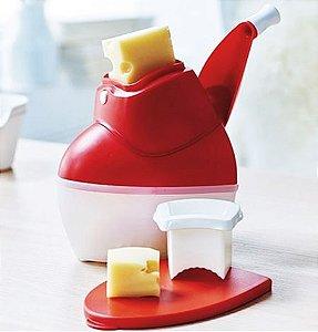 Tupperware Ralador de Queijo Vermelho
