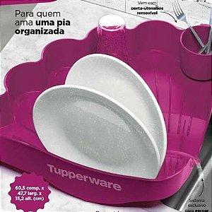 Tupperware Escorredor de Louças Roxo Importado