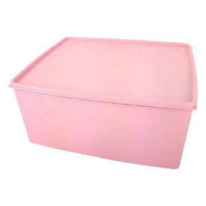 Tupperware Espaçosa 6,5 Litros Rosa Quartzo