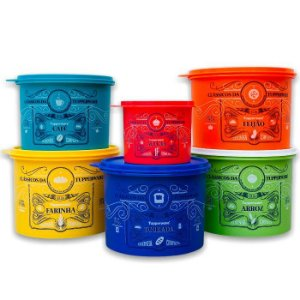 Tupperware Conjunto Caixas Clássicas 6 Pecas