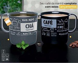 Tupperware Caneca Café e Chá 350ml 2 Pecas