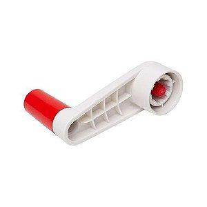 Tupperware Manivela Fusion Master Branco e Vermelho