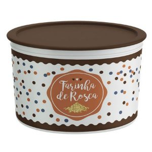 Tupperware Pote Master 1kg Farinha de Rosca