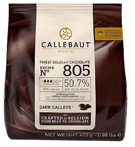 Gotas Chocolate Belga Callebaut Amargo 50,7% 805 - 400g