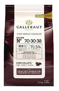 Chocolate Belga Amargo 70-30-38 (70,5% Cacau) - Gotas 2,5 Kg