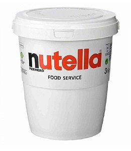 Nutella 3 Kg Balde Gigante Original Ferrero Delicioso Recheio