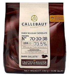 Gotas Chocolate Dark 70-30-38 - 70,5% Cacau 400g Callebaut