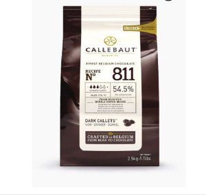 Chocolate Callebaut 54,5% Darkcal 811 2,5kg