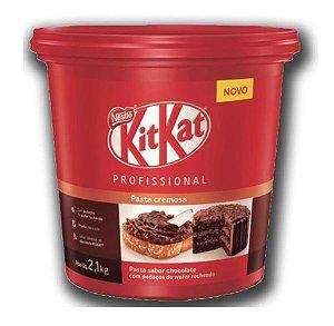 Kitkat 2,1kg Nestlé Pasta Cremosa Sabor Chocolate De Balde