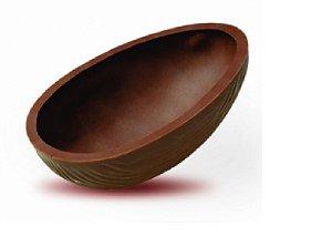 6 Cascas P/ovos De Páscoa ao leite500g Chocolate Sicao Mais