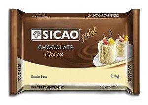Chocolate Sicao Branco Gold 2,1kg Callebaut