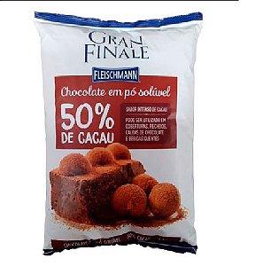 CHOCOLATE EM PÓ SOLUVEL 50% CACAU 1KG GRANFINALE