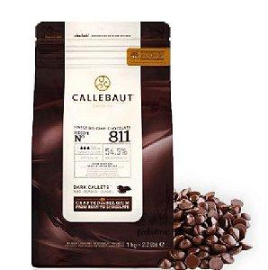 Chocolate Belga Callebaut Gotas Meio Amargo 811 - 1kg