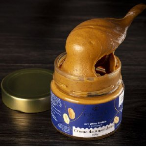 Creme de Amendoim Luckau 150g Zero Açúcar