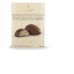 Ovo de Páscoa de Choco Belga Ao Leite com recheio Cookie300g