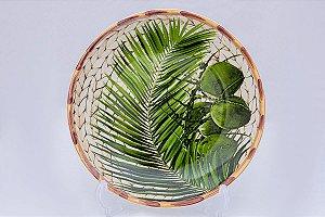Prato de Sobremesa Trancoso em cerâmica com 6pçs