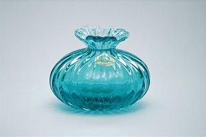 Vaso sem Ouro de Cristal Pequeno Acqua Claro