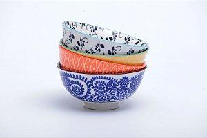 Conjunto de 4 Bowls Coloridos 12x5,5