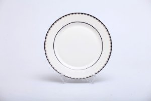Prato Raso Bone Chic em Porcelana com 6 pçs
