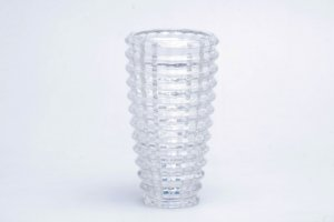 Vaso de Cristal Transparente Médio