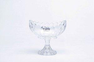 Centro de Mesa de Cristal de Chumbo com Pé Geneva15cm