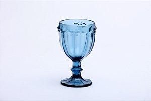 Conjunto de Taças para Água em Vidro Borboleta Azul  6pçs