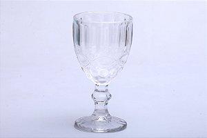 Conjunto de Taças de Água Transparente em Vidro Libélula 6pçs