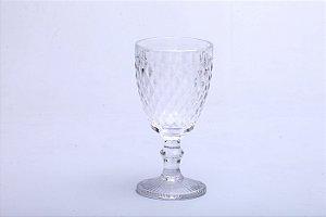 Conjunto de Taças para Vinho em Vidro Bico de Abacaxi Transparente 6 pçs