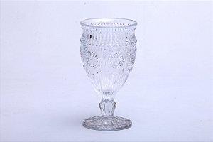 Conjunto de Taça para Água em Vidro  Aubusson Transparente 6 pçs