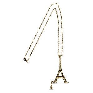 Colar dourado Torre Eiffel