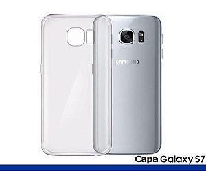 Capa de Silicone Transparente para Galaxy S7