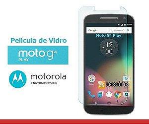 Película de Vidro para Moto G4 Play