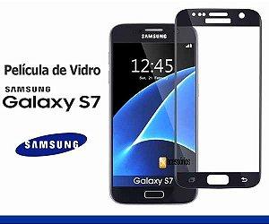 Película de Vidro para Galaxy S7 Cobre toda lente.