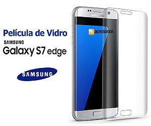 Película de Vidro curva para Galaxy S7 Edge