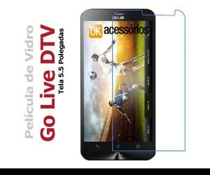 Película de Vidro para Asus Zenfone Go Live DTV
