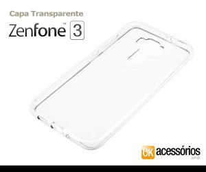 Capa de Silicone para Zenfone 3 (5.5 Polegadas)