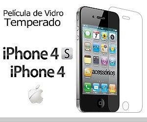 Película de Vidro para iPhone 4s.