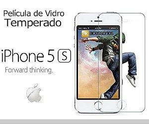 Película de Vidro para iPhone 5s.