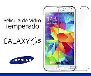 Película de Vidro para Samsung Galaxy S5 Duos.